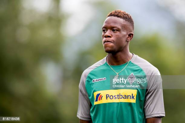 Denis Zakaria during a training session at the Training Camp of Borussia Moenchengladbach on July 18 2017 in RottachEgern Germany