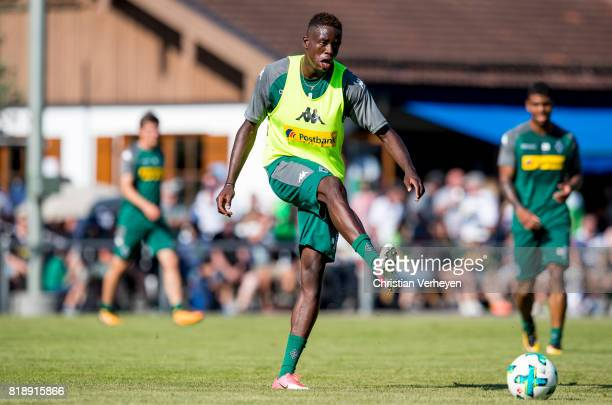 Denis Zakaria during a training session at the Training Camp of Borussia Moenchengladbach on July 19 2017 in RottachEgern Germany