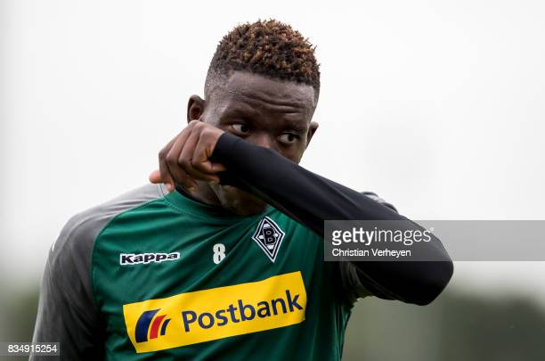 Denis Zakaria during a Training session of Borussia Moenchengladbach at BorussiaPark on August 18 2017 in Moenchengladbach Germany