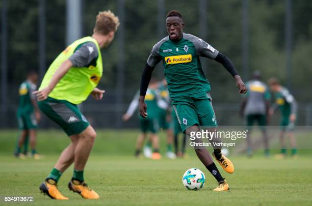Denis Zakaria during the training session of Borussia Moenchengladbach at BorussiaPark on August 18 2017 in Moenchengladbach Germany