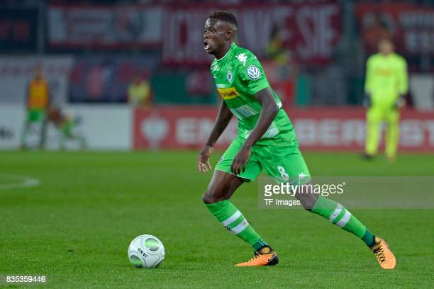 Denis Zakaria of Gladbach in action during the DFB Cup match between Rot Weiss Essen and Borussia Moenchengladbach at Stadion Essen on August 11 2017...