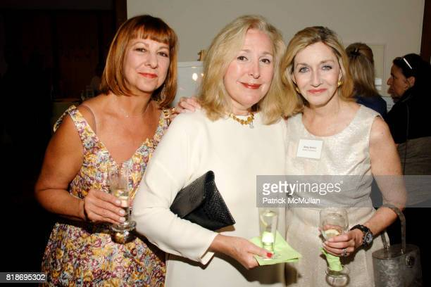 Denise Adams Jean Meisel and Betsy Nichol attend 15th Annual Artists Against Abuse Benefit Gala at The Ross School on June 26 2010 in East Hampton...