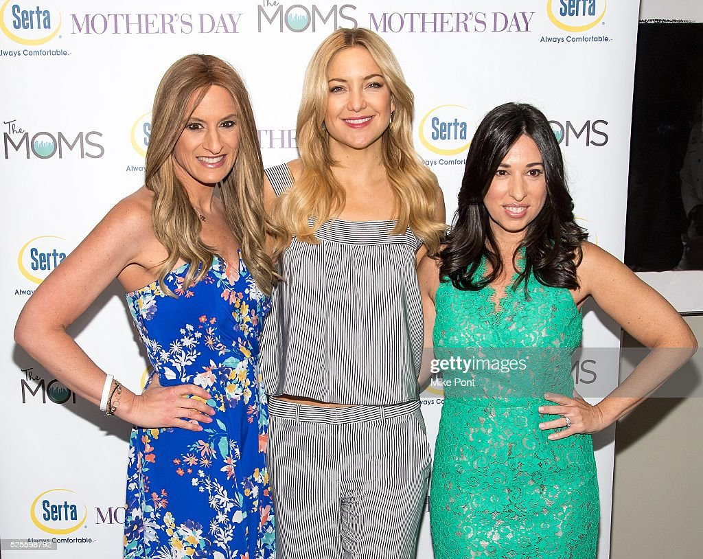 Denise Albert, actress <a gi-track='captionPersonalityLinkClicked' href=/galleries/search?phrase=Kate+Hudson&family=editorial&specificpeople=156407 ng-click='$event.stopPropagation()'>Kate Hudson</a>, and Melissa Gerstein attend the Mamarazzi screening of 'Mother's Day' at Elinor Bunin Munroe Film Center on April 28, 2016 in New York City.