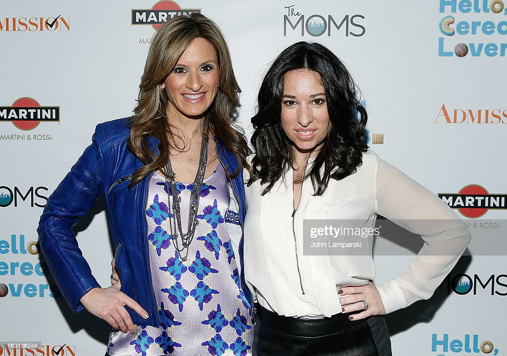 Denise Albert and Melissa Gerstein attend The MOMS Celebrate the Release Of 'Admission' at Disney Screening Room on March 5, 2013 in New York City.