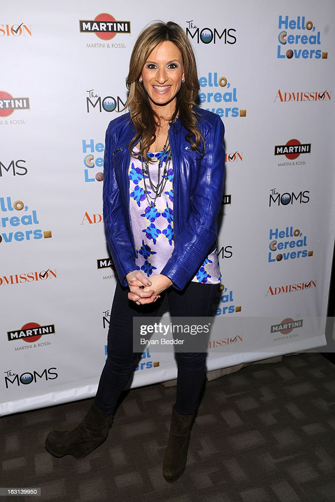 Denise Albert attends the Moms and MARTINI celebrate Tina Fey and release of her new film, 'Admission' at Disney Screening Room on March 5, 2013 in New York City.