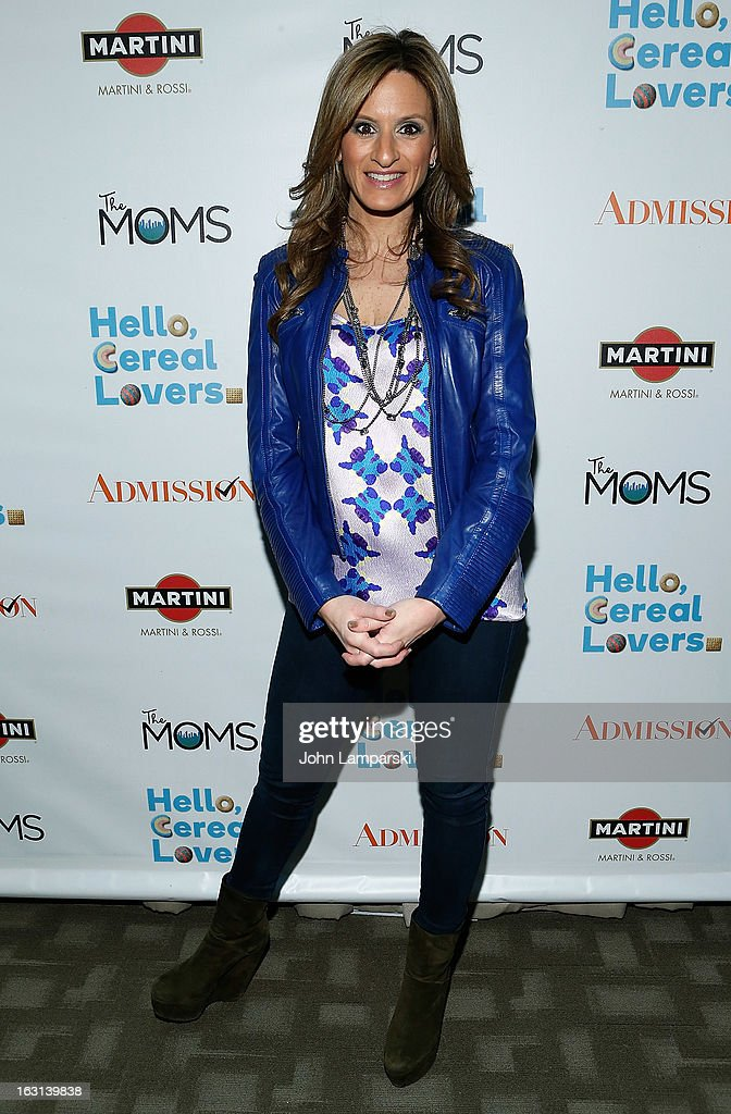 Denise Albert attends The MOMS Celebrate the Release Of 'Admission' at Disney Screening Room on March 5, 2013 in New York City.