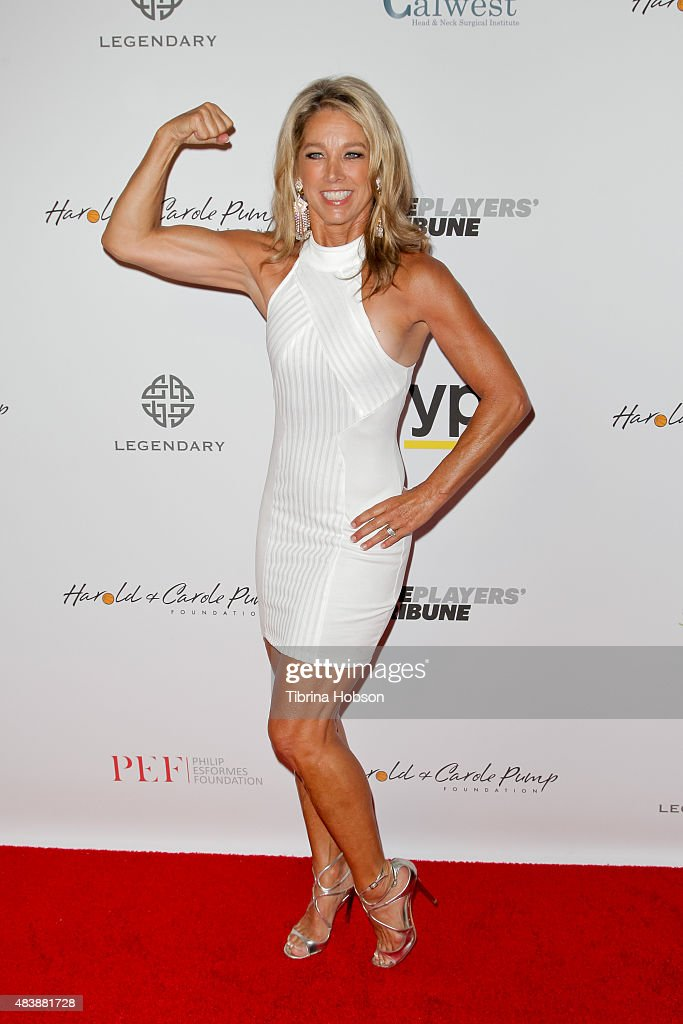 <a gi-track='captionPersonalityLinkClicked' href=/galleries/search?phrase=Denise+Austin&family=editorial&specificpeople=956724 ng-click='$event.stopPropagation()'>Denise Austin</a> attends the 15th annual Harold and Carole Pump Foundation gala at the Hyatt Regency Century Plaza on August 7, 2015 in Los Angeles, California.