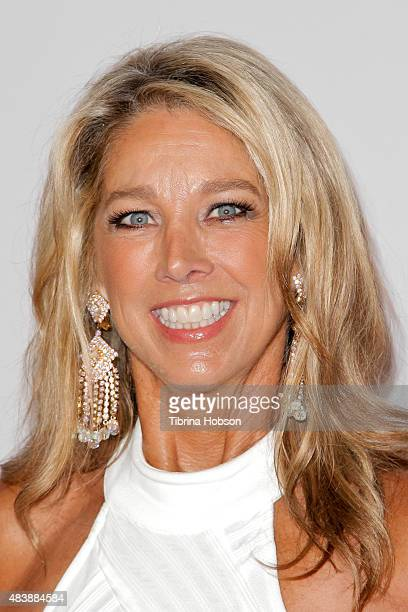 Denise Austin attends the 15th annual Harold and Carole Pump Foundation gala at the Hyatt Regency Century Plaza on August 7 2015 in Los Angeles...