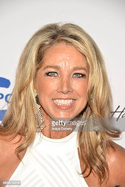 Denise Austin attends the 15th annual Harold Carole Pump Foundation gala at the Hyatt Regency Century Plaza on August 7 2015 in Los Angeles California