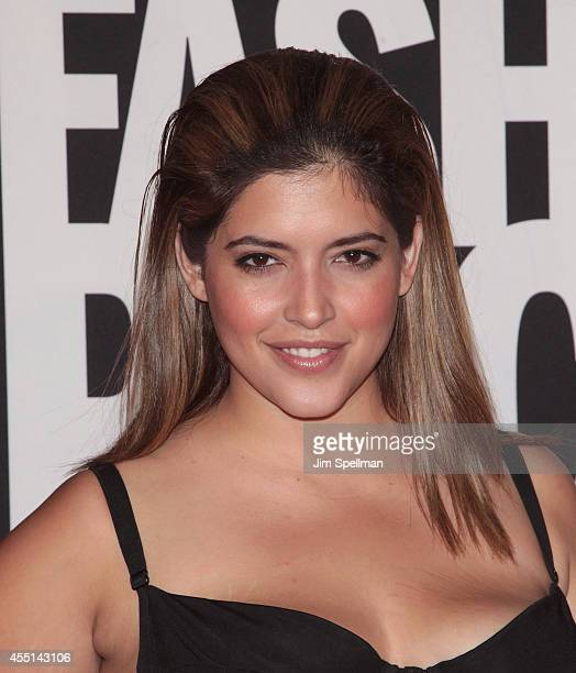 Denise Bidot attends Fashion Rocks 2014 at Barclays Center on September 9 2014 in the Brooklyn borough of New York City