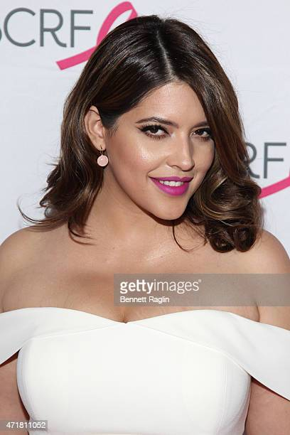 Denise Bidot attends The Breast Cancer Research Foundation 2015 Pink Carpet Party at The Waldorf=Astoria on April 30 2015 in New York City