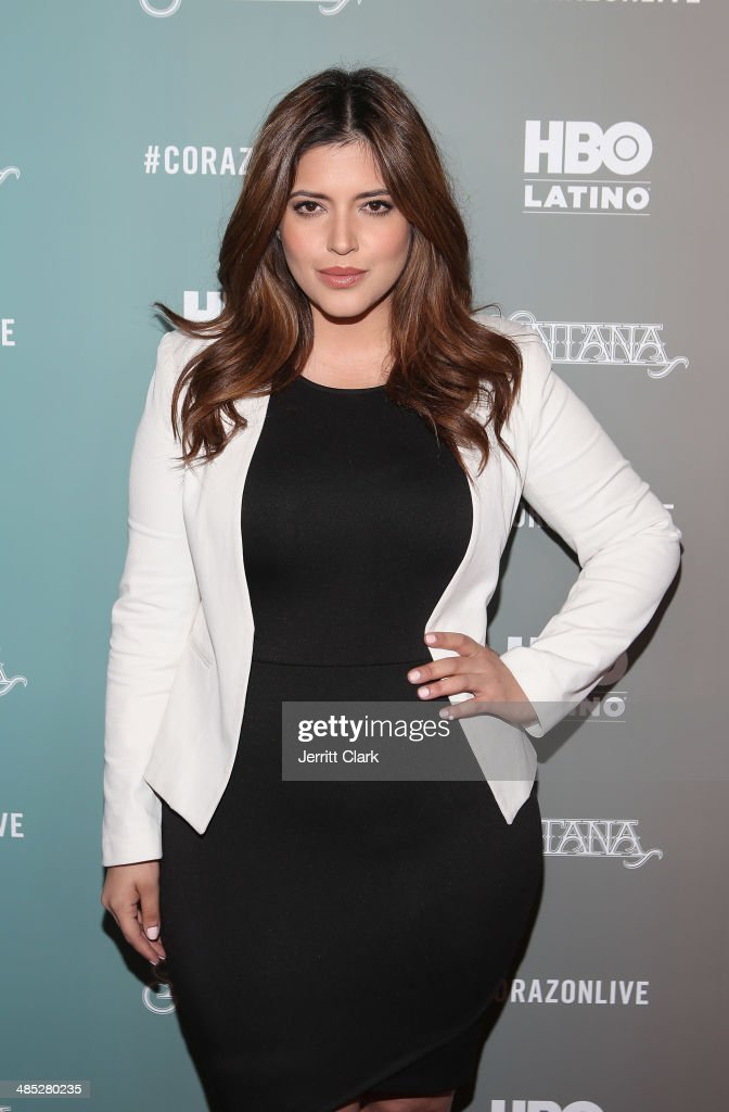 Denise Bidot attends the HBO Latino NYC Premiere of 'Santana: De Corazon' at Hudson Theatre on April 16, 2014 in New York City.