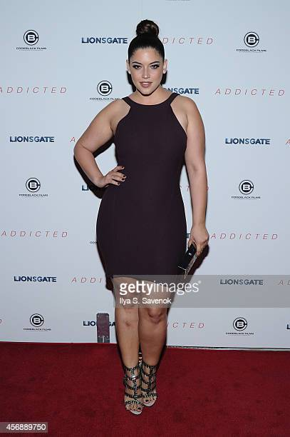 Denise Bidot attends the New York Premiere of 'Addicted' at Regal Union Square on October 8 2014 in New York City