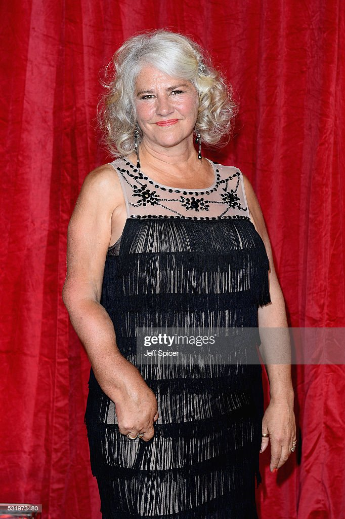 Denise Black attends the British Soap Awards 2016 at Hackney Empire on May 28, 2016 in London, England.