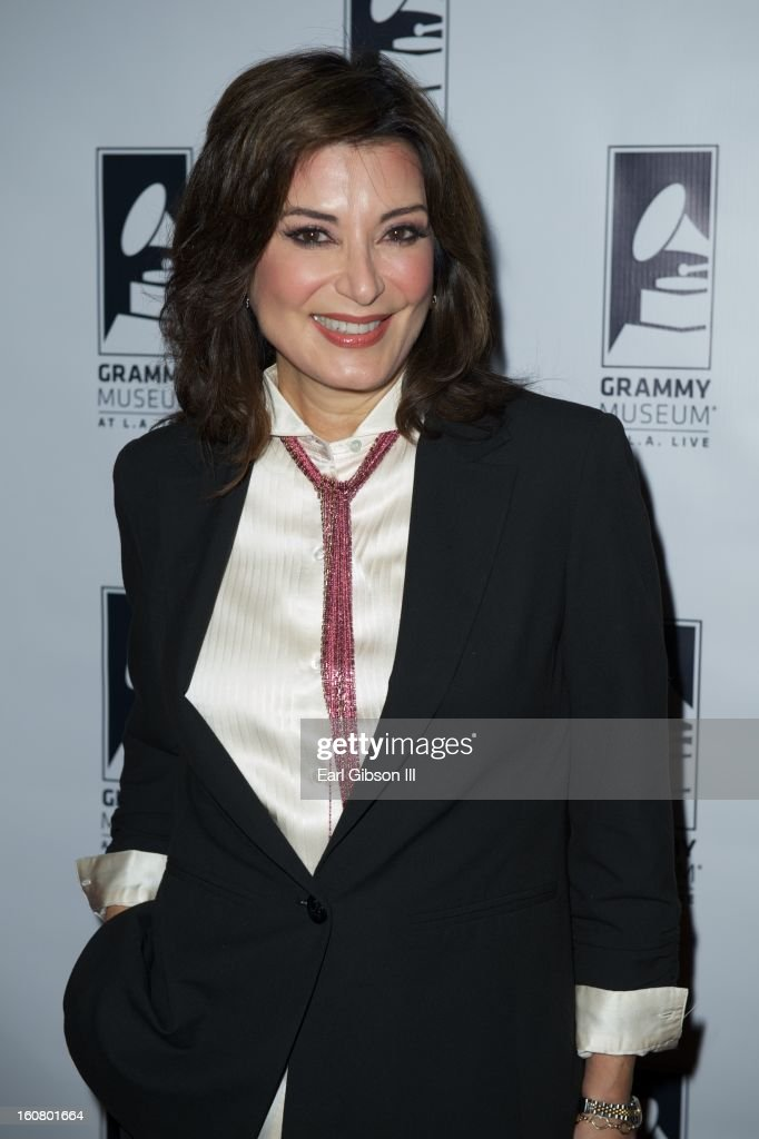 Denise Donatelli attends 'Happy On The Ground: 8 Days At Grammy Camp' at The GRAMMY Museum on February 5, 2013 in Los Angeles, California.