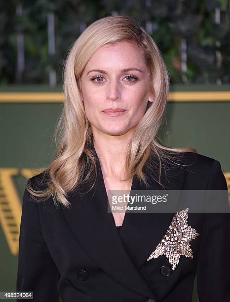 Denise Gough attends the Evening Standard Theatre Awards at The Old Vic Theatre on November 22 2015 in London England