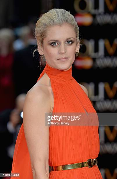 Denise Gough attends The Olivier Awards with Mastercard at The Royal Opera House on April 3 2016 in London England