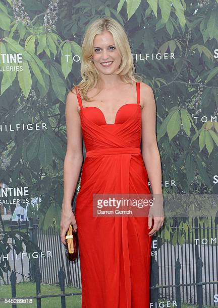 Denise Gough attends the Serpentine Summer Party cohosted by Tommy Hilfiger at the Serpentine Gallery on July 6 2016 in London England