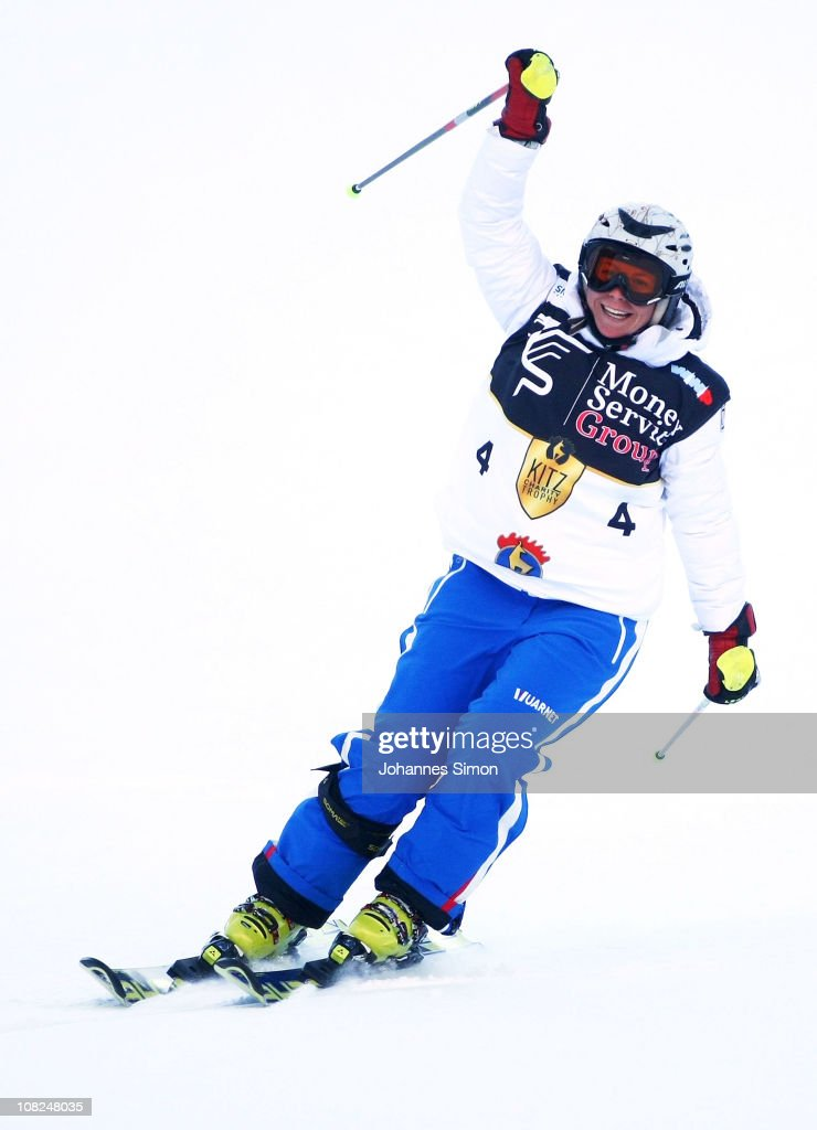 <a gi-track='captionPersonalityLinkClicked' href=/galleries/search?phrase=Denise+Karbon&family=editorial&specificpeople=878591 ng-click='$event.stopPropagation()'>Denise Karbon</a> participates in the Kitzbuehel Celebrities Charity Race on January 22, 2011 in Kitzbuehel, Austria.