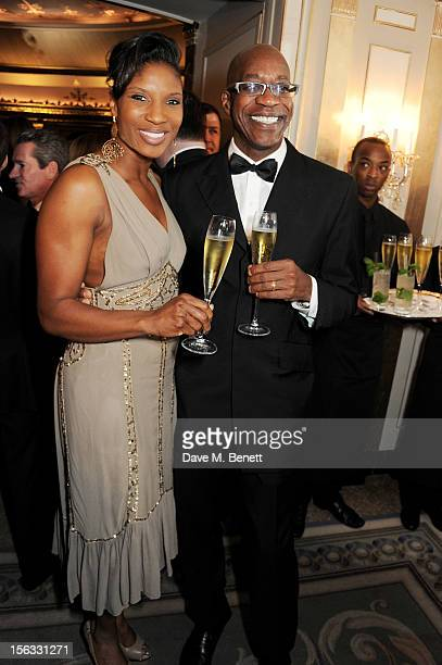 Denise Lewis and Ed Moses attend the Cartier Racing Awards 2012 at The Dorchester on November 13 2012 in London England