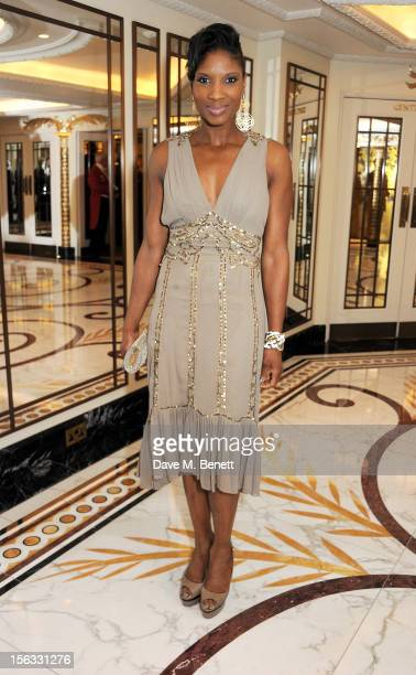 Denise Lewis attends the Cartier Racing Awards 2012 at The Dorchester on November 13 2012 in London England