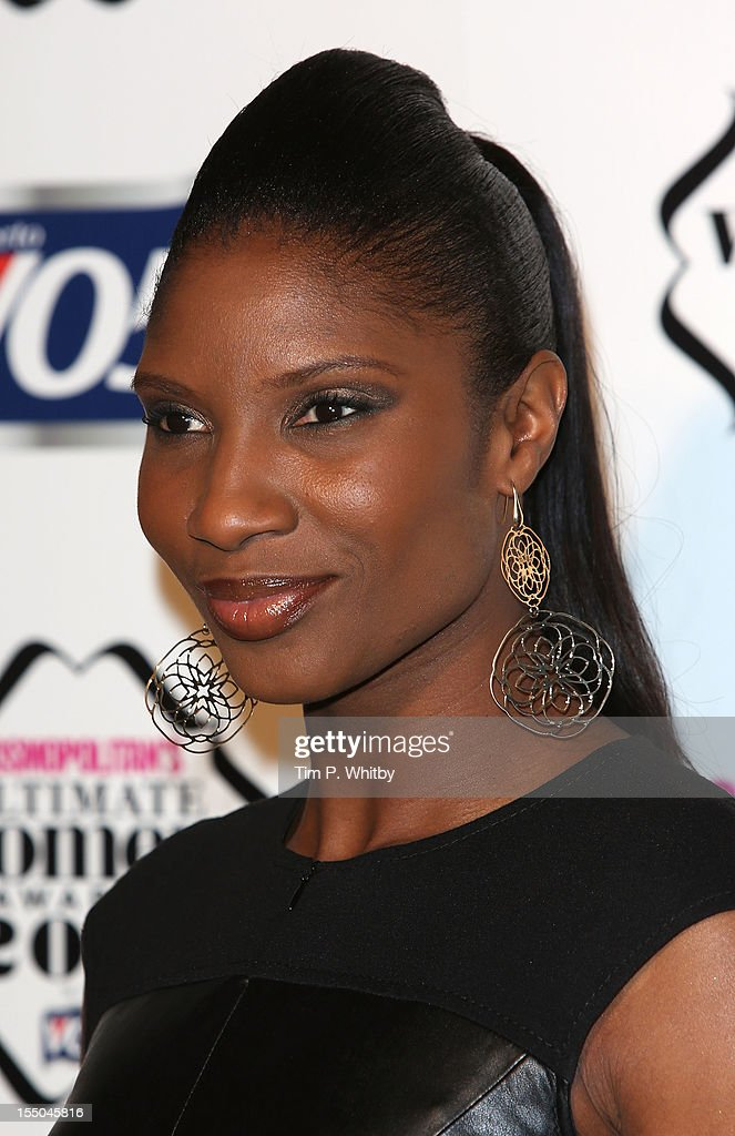 Denise Lewis attends the Cosmopolitan Ultimate Woman of the Year awards at Victoria & Albert Museum on October 30, 2012 in London, England.