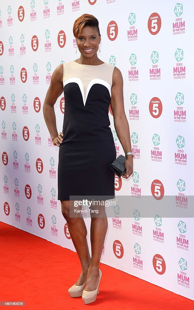 Denise Lewis attends the Tesco Mum of the Year awards at The Savoy Hotel on March 23, 2014 in London, England.