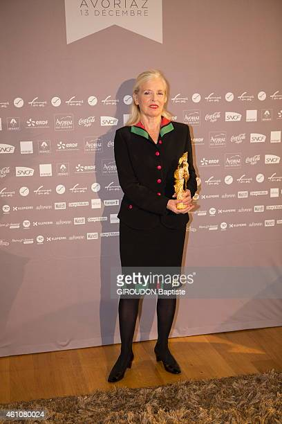 Denise Pumain french geographer specialist in urbanization and modeling in social sciences prizewinner Woman of innovation 2014 at the 22nd women in...