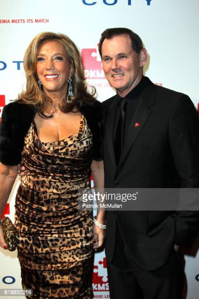 Denise Rich and Bernd Beetz attend DKMS' 4th Annual Gala' LINKED AGAINST LEUKEMIA at Cipriani's 42nd St on April 29 2010 in New York City