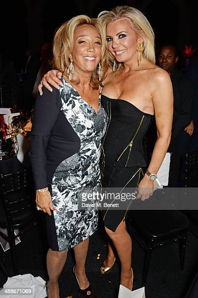 Denise Rich and Claire Caudwell attend as Gabrielle's Angel Foundation for Cancer Research UK hosts its third annual 'Gabrielle's Gala' fundraiser at...