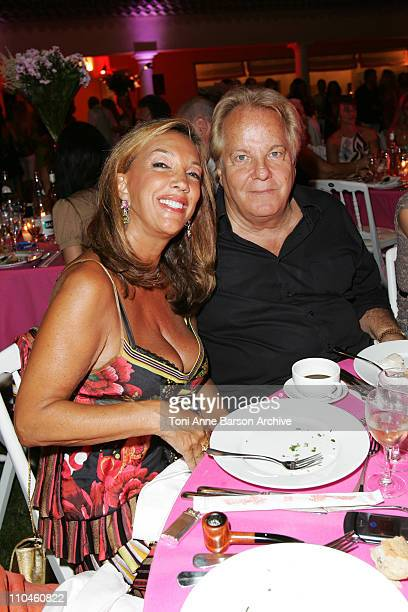 Denise Rich and Massimo Gargia during 'ASMALLWORLD' 2nd Anniversary Party in SaintTropez July 22 2006 at Private Residence in SaintTropez France