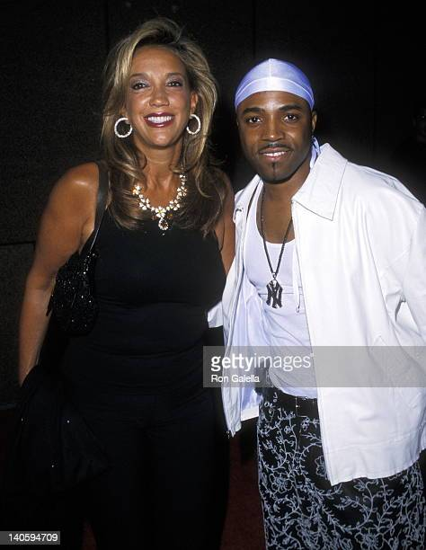 Denise Rich and Teddy Riley at the Michael Jackson's 30th Anniversary Celebration at Madison Square Garden Arrivals Madison Square Garden New York...