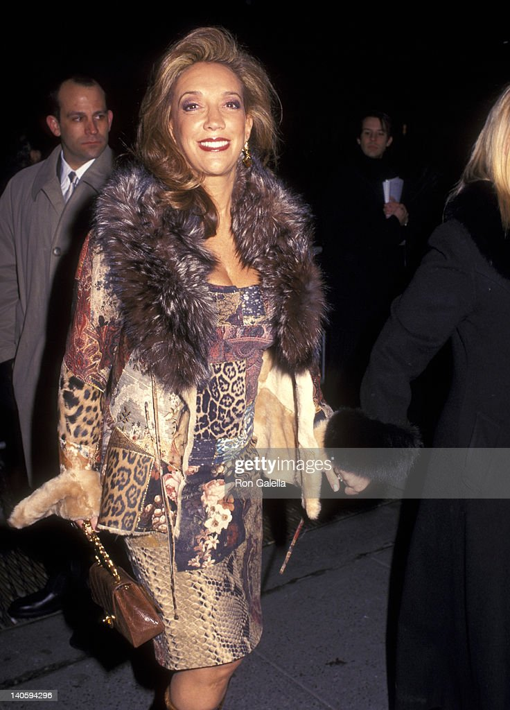 Denise Rich at the NY Premiere of 'Chicago', Ziegfeld Theater, New York City.