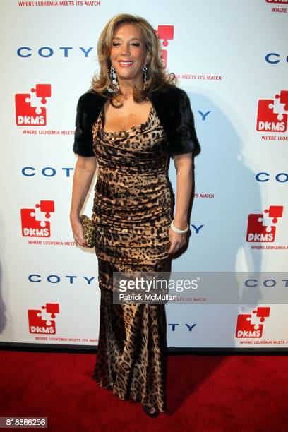 Denise Rich attends DKMS' 4th Annual Gala' LINKED AGAINST LEUKEMIA at Cipriani's 42nd St on April 29 2010 in New York City