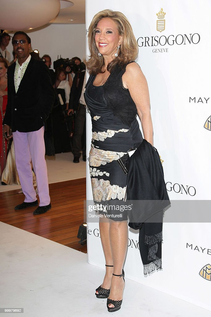 Denise Rich attends the de Grisogono party at the Hotel Du Cap on May 18, 2010 in Cap D'Antibes, France.