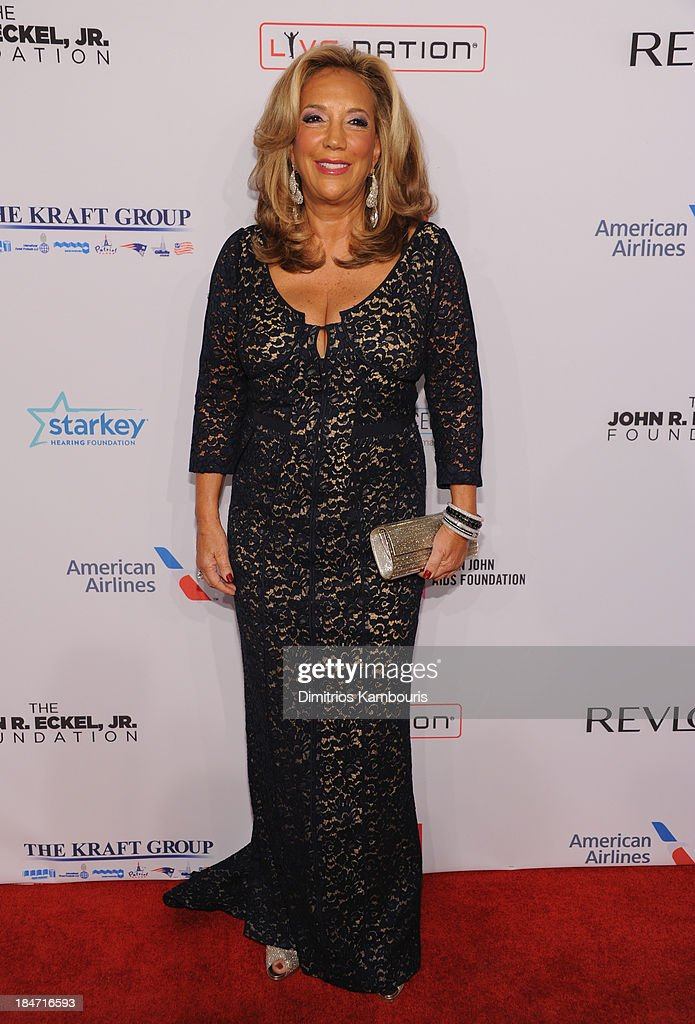 Denise Rich attends the Elton John AIDS Foundation's 12th Annual An Enduring Vision Benefit at Cipriani Wall Street on October 15, 2013 in New York City.