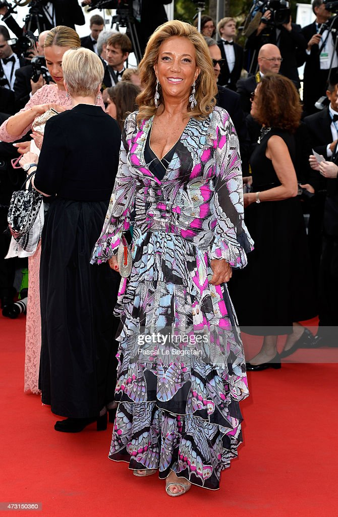 Denise Rich attends the opening ceremony and premiere of 'La Tete Haute' ('Standing Tall') during the 68th annual Cannes Film Festival on May 13, 2015 in Cannes, France.