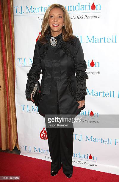 Denise Rich attends the TJ Martell Foundations's 32nd Annual Gala at the New York Hilton on October 23 2007 in New York City