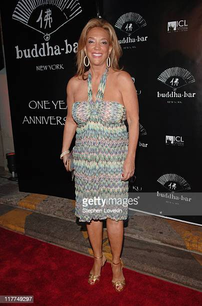 Denise Rich during Buddha Bar OneYear Anniversary at Buddha Bar in New York City New York United States