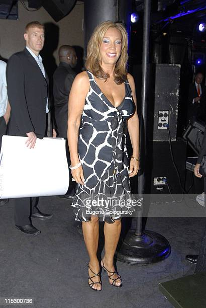 Denise Rich during Denise Rich Accepts a Donation on Behalf of the GP Foundation at AER in New York City New York United States