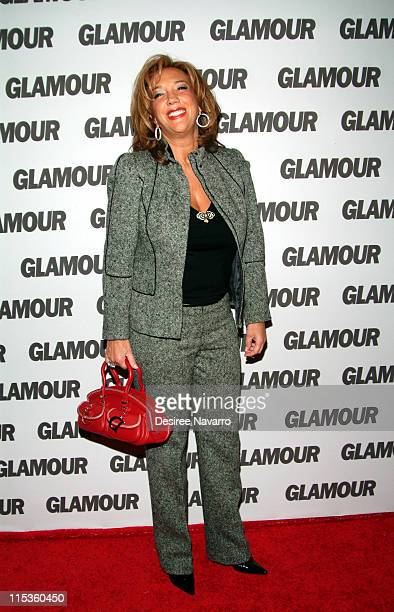 Denise Rich during GLAMOUR Magazine's Celebration of Their First Ever Hero Issue at DavidBurke and Donatella in New York New York United States