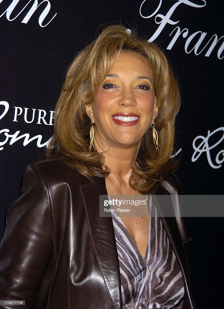 Denise Rich during 'Living with Fran' Premiere Party Sponsored by PureRomance.com at Cain Lounge in New York City, New York, United States.