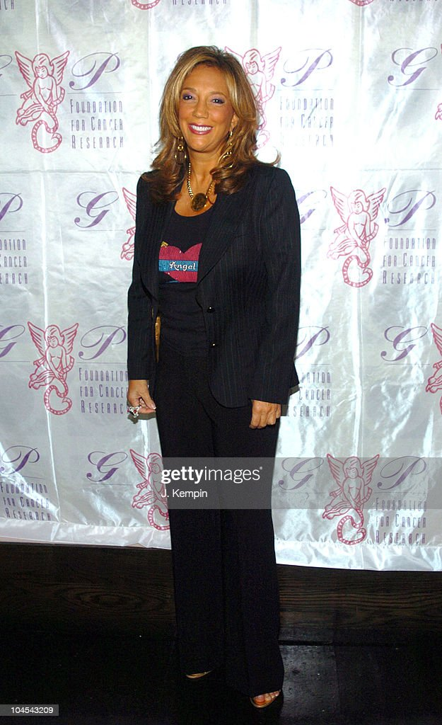 <a gi-track='captionPersonalityLinkClicked' href=/galleries/search?phrase=Denise+Rich&family=editorial&specificpeople=204678 ng-click='$event.stopPropagation()'>Denise Rich</a> during The Angel Ball 2005 Kick-Off Launch Party at P.M. Lounge in New York City, New York, United States.