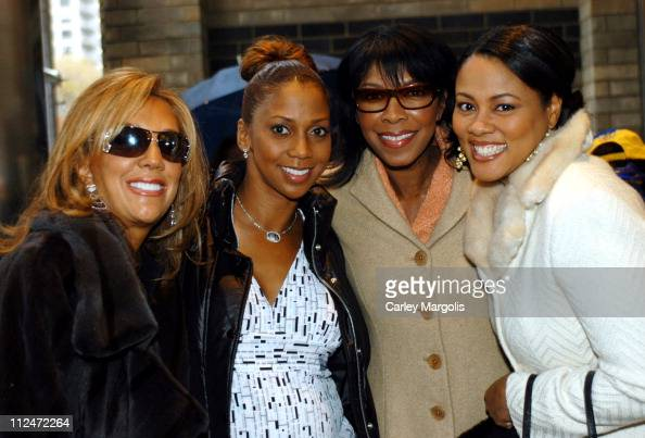 Denise Rich Holly Robinson Peete Natalie Cole and Lela Rochon *Exclusive*