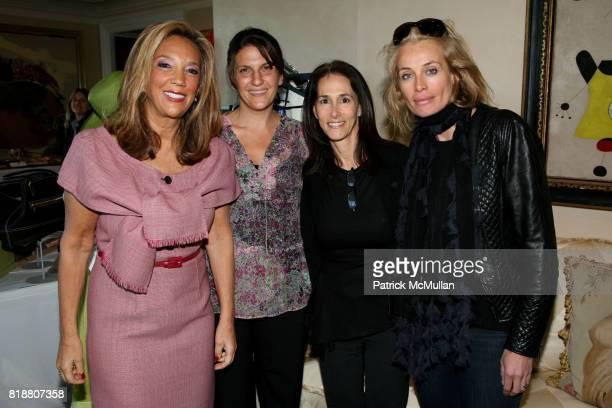 Denise Rich Jan Ranieri Jan Planet and Frederique van der Wal attend AMERICANA MANHASSET Fashion Fete to Benefit GABRIELLE's ANGEL FOUNDATION for...