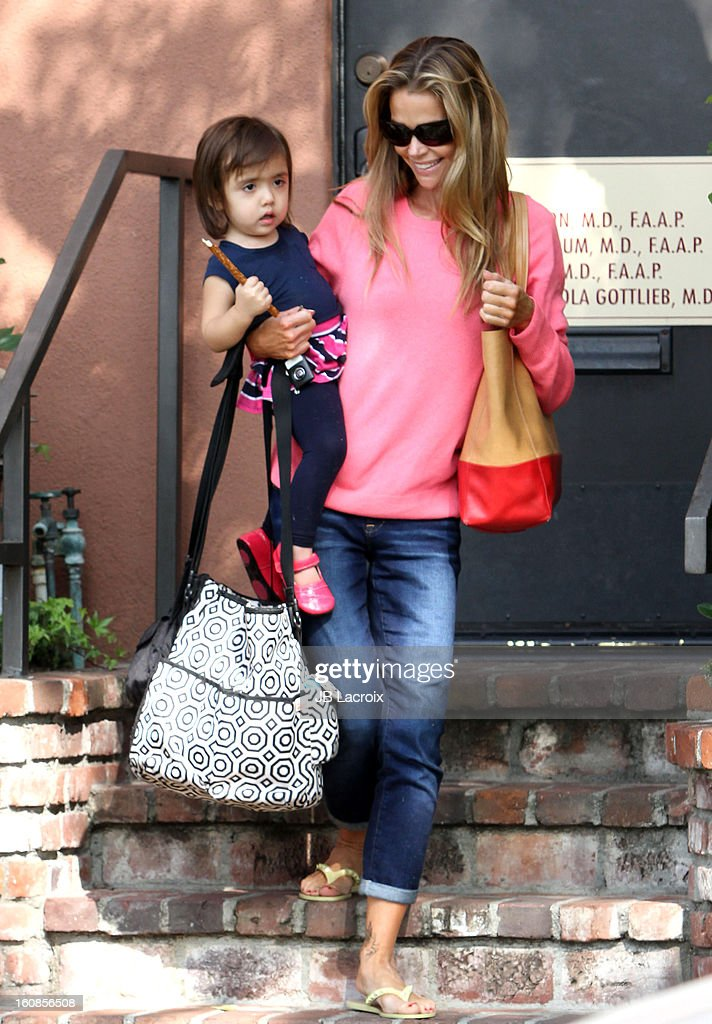 Denise Richards Sighting In Los Angeles - February 6, 2013