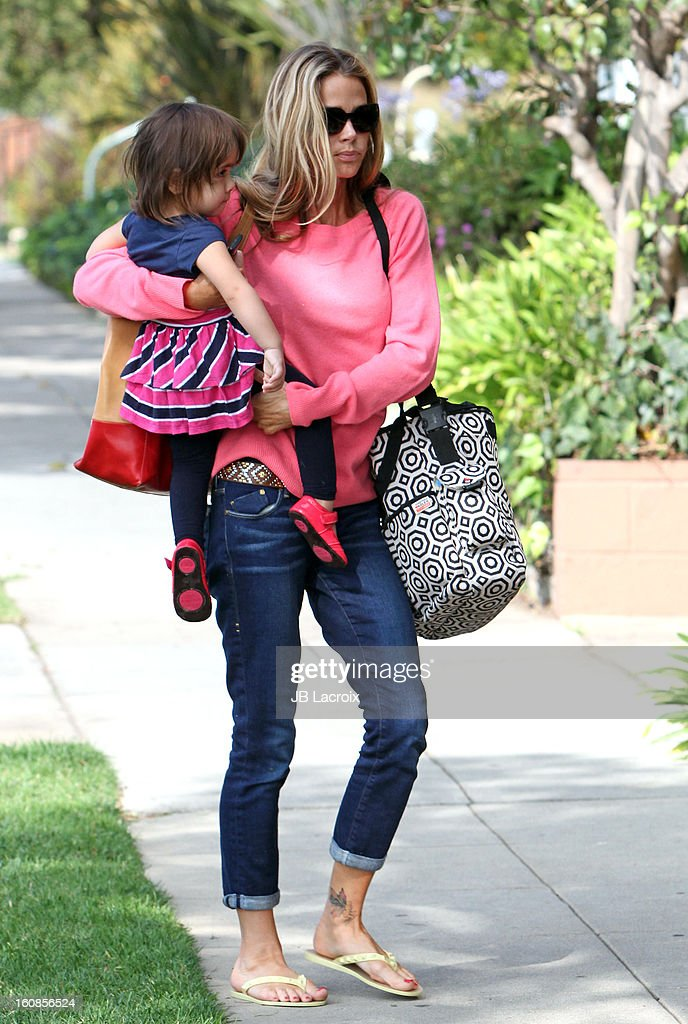 <a gi-track='captionPersonalityLinkClicked' href=/galleries/search?phrase=Denise+Richards+-+Actress&family=editorial&specificpeople=208108 ng-click='$event.stopPropagation()'>Denise Richards</a> and Eloise Joni are seen on February 6, 2013 in Los Angeles, California.