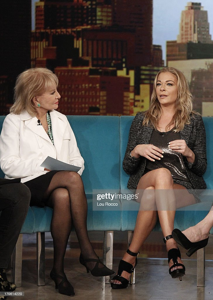 THE VIEW - Denise Richards (ABC Family's 'Twisted') and musical guest LeAnn Rimes appeared today, June 11, 2013 on ABC's 'The View.' 'The View' airs Monday-Friday (11:00 am-12:00 pm, ET) on the ABC Television Network. RIMES