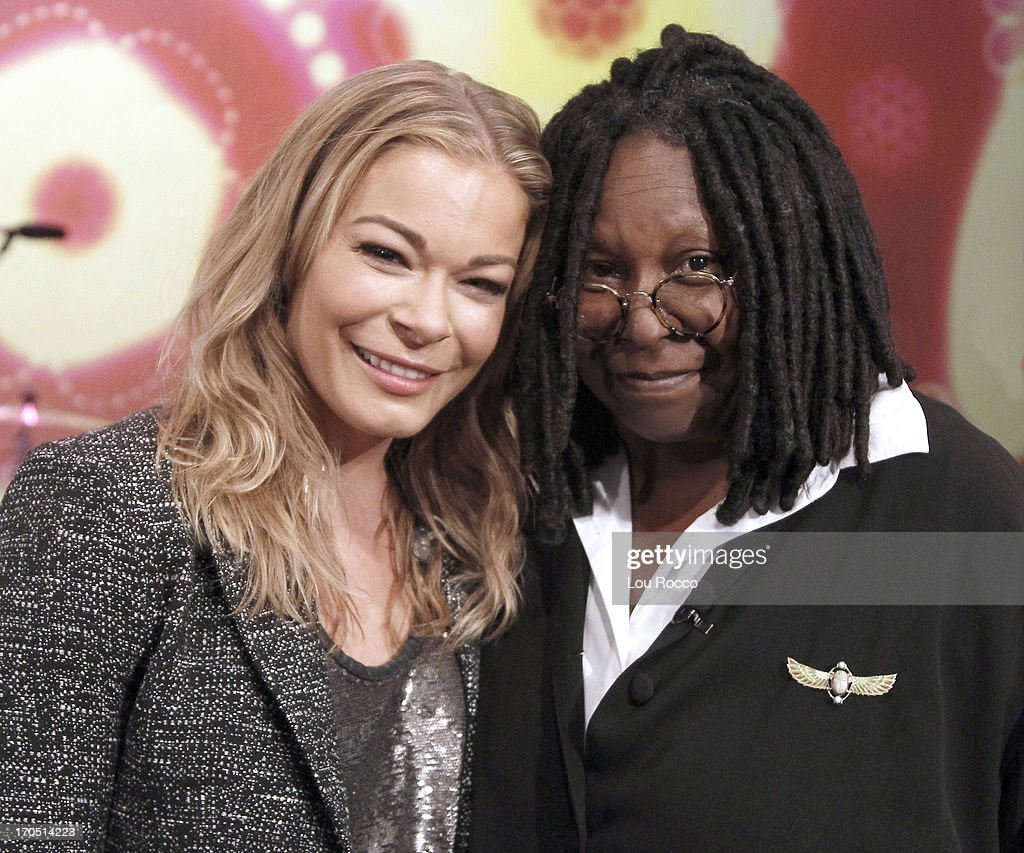 THE VIEW - Denise Richards (ABC Family's 'Twisted') and musical guest LeAnn Rimes appeared today, June 11, 2013 on ABC's 'The View.' 'The View' airs Monday-Friday (11:00 am-12:00 pm, ET) on the ABC Television Network. GOLDBERG