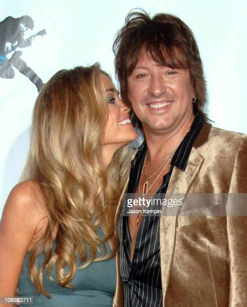 Denise Richards and Richie Sambora during Conde Nast Media Group Kicks off New York Fall Fashion Week with 3rd Annual Fashion Rocks Concert Arrivals...